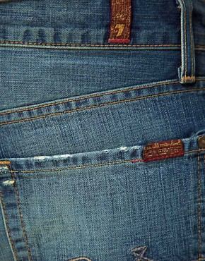 Image 4 of 7 For All Mankind Slimmy Jeans