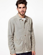 Edwin Jacket Railroad Hickory Stripe