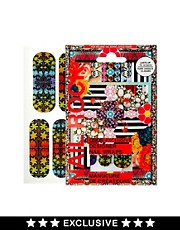 Nail Rock ASOS Exclusive Floral Rainbow Nail Wraps
