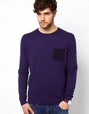 ASOS Crew Neck Jumper with Pocket