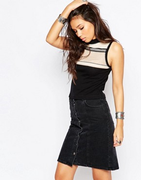 Free People Move With It Cropped Tank