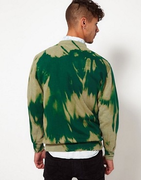 Image 2 ofReclaimed Vintage Tye-Dye Sweat