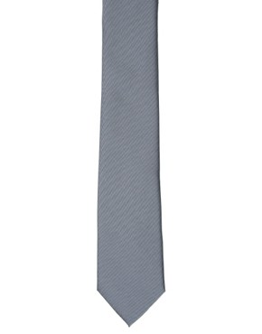 Image 4 ofASOS Grey Slim Tie
