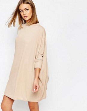 Daisy Street Oversized Cape Dress