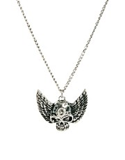 ASOS Skull with Wings Necklace