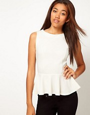River Island Peplum Top