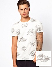 ASOS T-Shirt With All Over Print