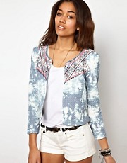 River Island Quilted Ethnic Jacket