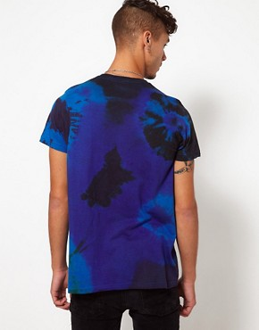 Image 2 of Reclaimed Vintage T-Shirt with Tye-Dye