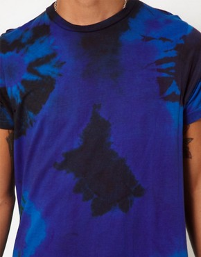 Image 3 of Reclaimed Vintage T-Shirt with Tye-Dye