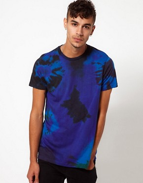 Image 1 ofReclaimed Vintage T-Shirt with Tye-Dye