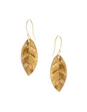 Image 1 ofPeople Tree Leaf Earrings