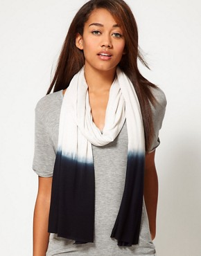 Image 1 ofUnconditional Dip Dye Ends Scarf