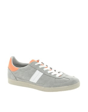 Image 1 of ASOS DALEY Trainers with Suede Detail