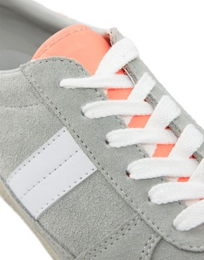 Image 4 of ASOS DALEY Trainers with Suede Detail