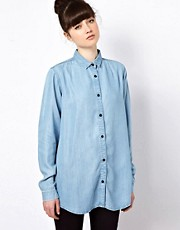 Won Hundred Jeans Dahl Shirt in Tencel Denim