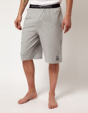 Image 1 ofEmporio Armani Lounge Shorts