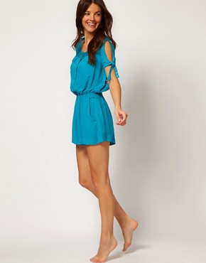 Image 4 ofSeventh Wonderland Amadora Silk Playsuit