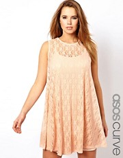 ASOS CURVE Exclusive Lace Swing Dress