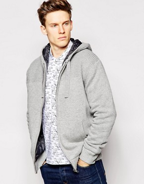 French Connection Dig Zip Up Hoodie