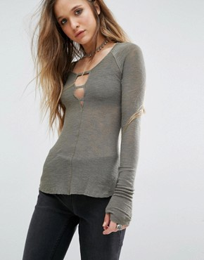 Free People Bae Bae Layering Top