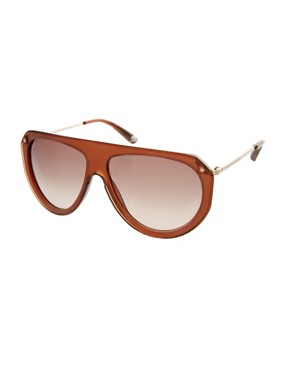 Image 1 ofMarc By Marc Jacobs Aviator Sunglasses