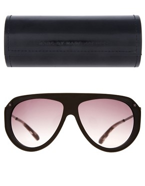 Image 2 ofMarc By Marc Jacobs Aviator Sunglasses