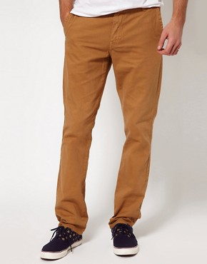 Image 1 ofSolid Slim Chinos