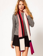 Alice Hannah Colour Block Oversized Scarf