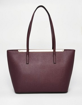 ALDO Mini Tote with Metal Bar Detail