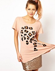 Wildfox Leopard&#39;s Spots T-Shirt