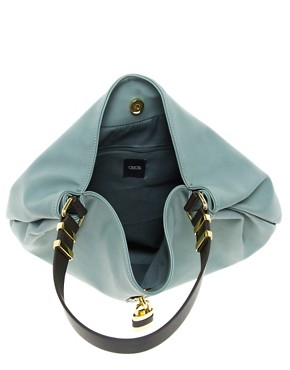 Image 2 ofASOS Hobo Bag With Front Padlock