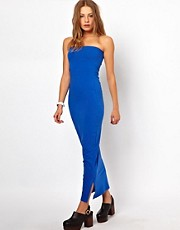 American Apparel Tube Maxi Dress