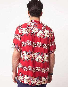 Bild 2 von ASOS  Hemd mit Hawaii-Muster