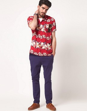 Bild 4 von ASOS  Hemd mit Hawaii-Muster