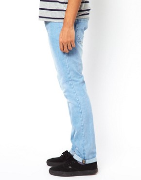 Image 4 of Bellfield Slim Fit Jeans With Tab Detail