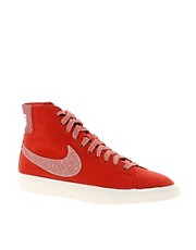 Nike Blazer Decon CVS Mid White High Top Trainers