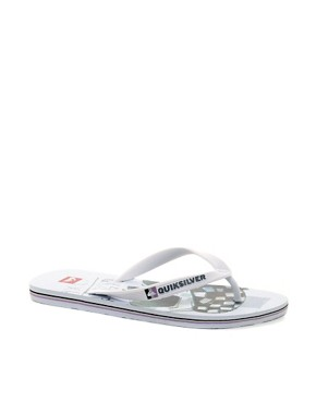 Image 1 ofQuiksilver Molokai Screenline Flip Flops
