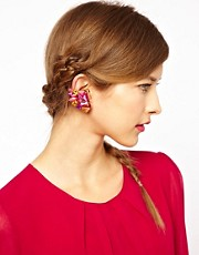 ASOS Big Gem Ear Cuffs