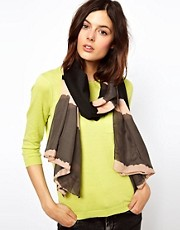 Pieces Dorita Long Dip Dye Scarf