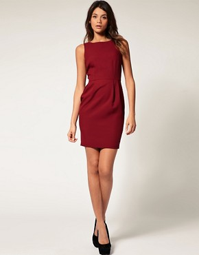 Image 4 ofASOS Pencil Dress with Tulip Skirt