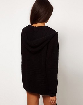 Image 2 ofASOS Zip Hoodie Cardigan