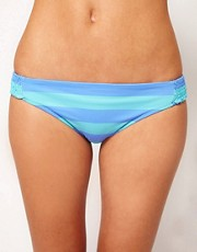 ASOS Hipster Bikini Pant In Stripe Print