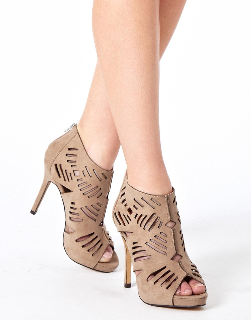 Image 3 of ASOS TILLY Peep Toe Shoe Boots