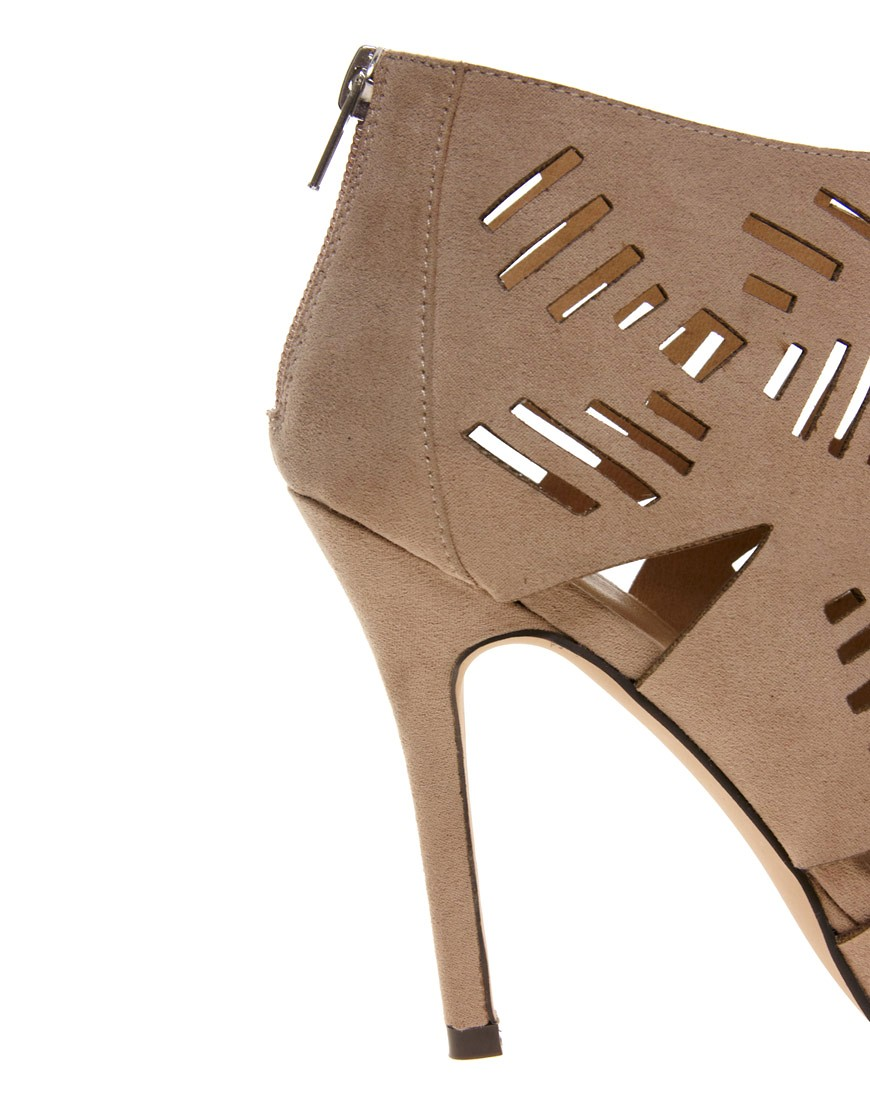 Image 4 of ASOS TILLY Peep Toe Shoe Boots