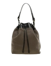 Whistles Crosby Bucket Leather Bag