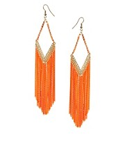 Oasis Diamante Tassel Earrings