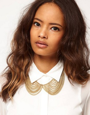 Image 3 ofASOS Multi Chain Rounded Collar Necklace