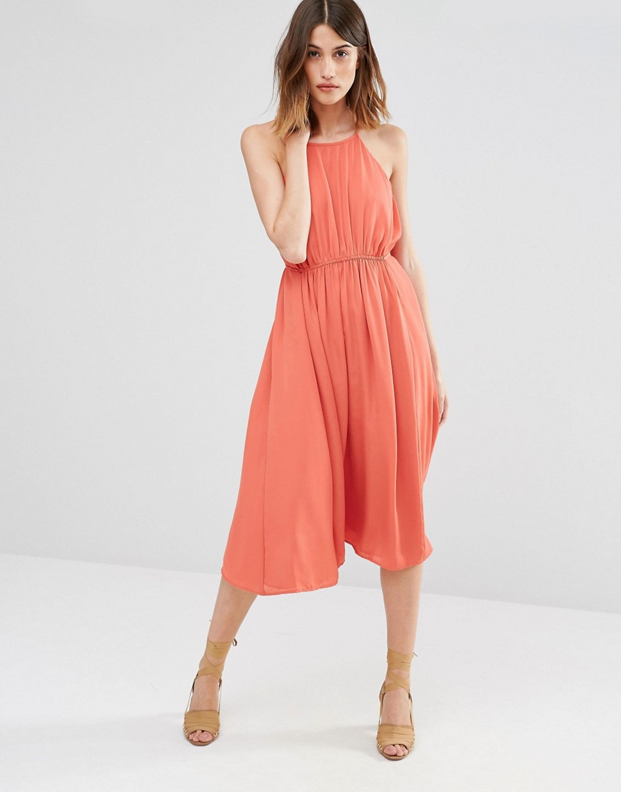 Warehouse Empire Channel Midi Dress