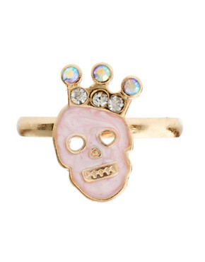 Image 2 ofASOS Pretty Skull Ring Multipack
